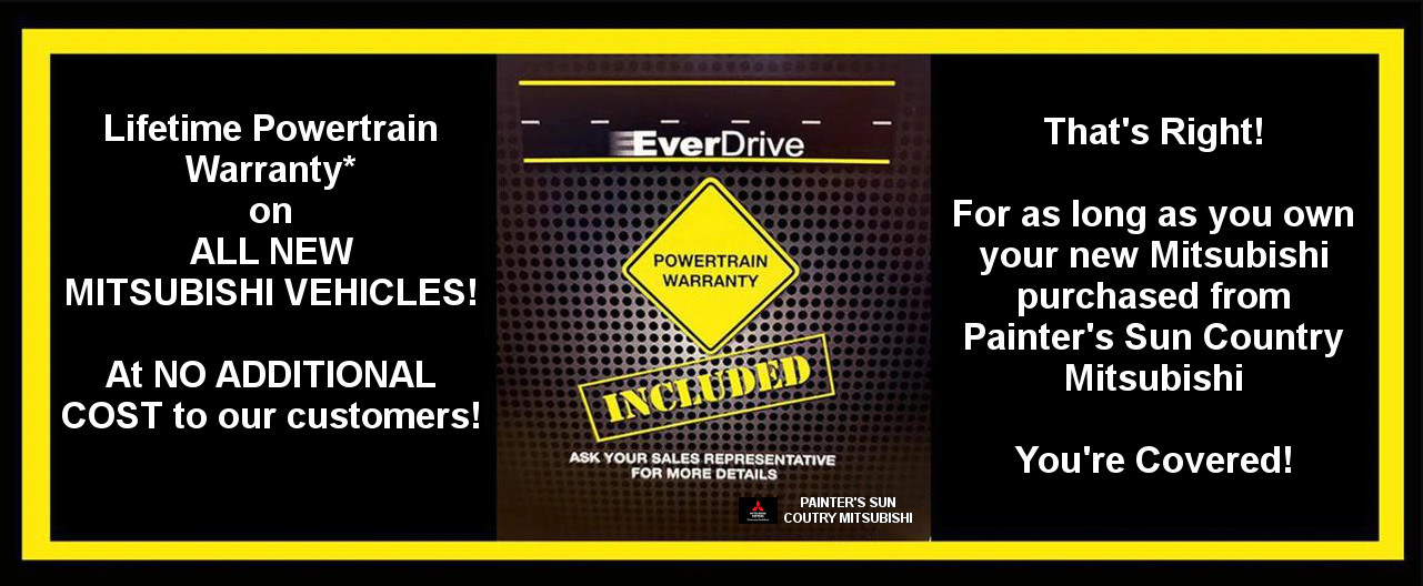 EverDrive Lifetime Warranty Painters Mitsubishi Saint George UT