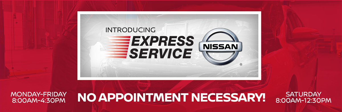 express service at interstate nissan in erie pa