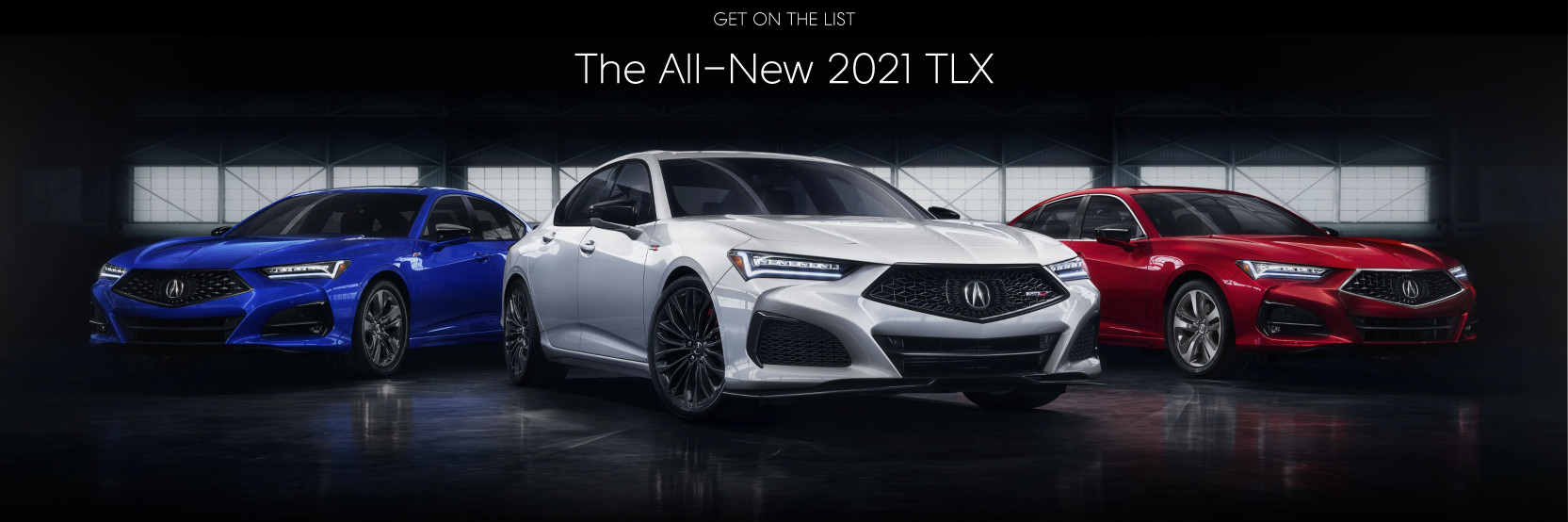 the all new 2021 tlx paragon acura