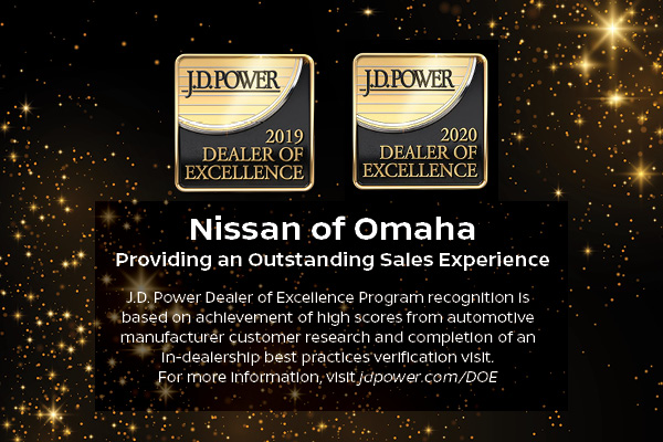 nissan award of excellence winner 2019