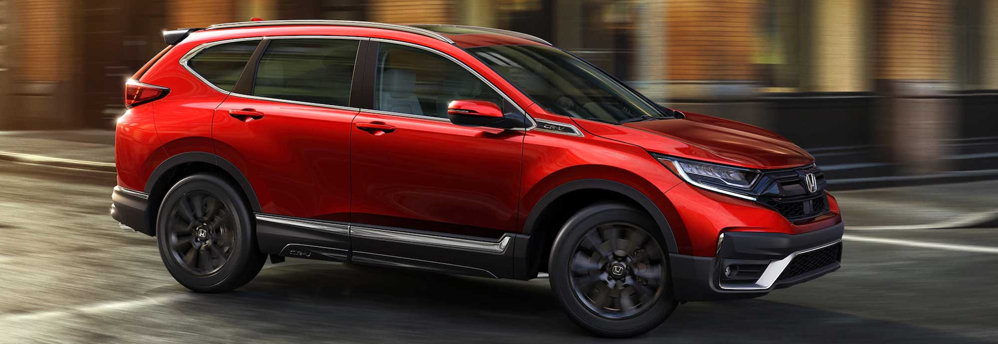 Right side view of the 2021 Honda CR-V