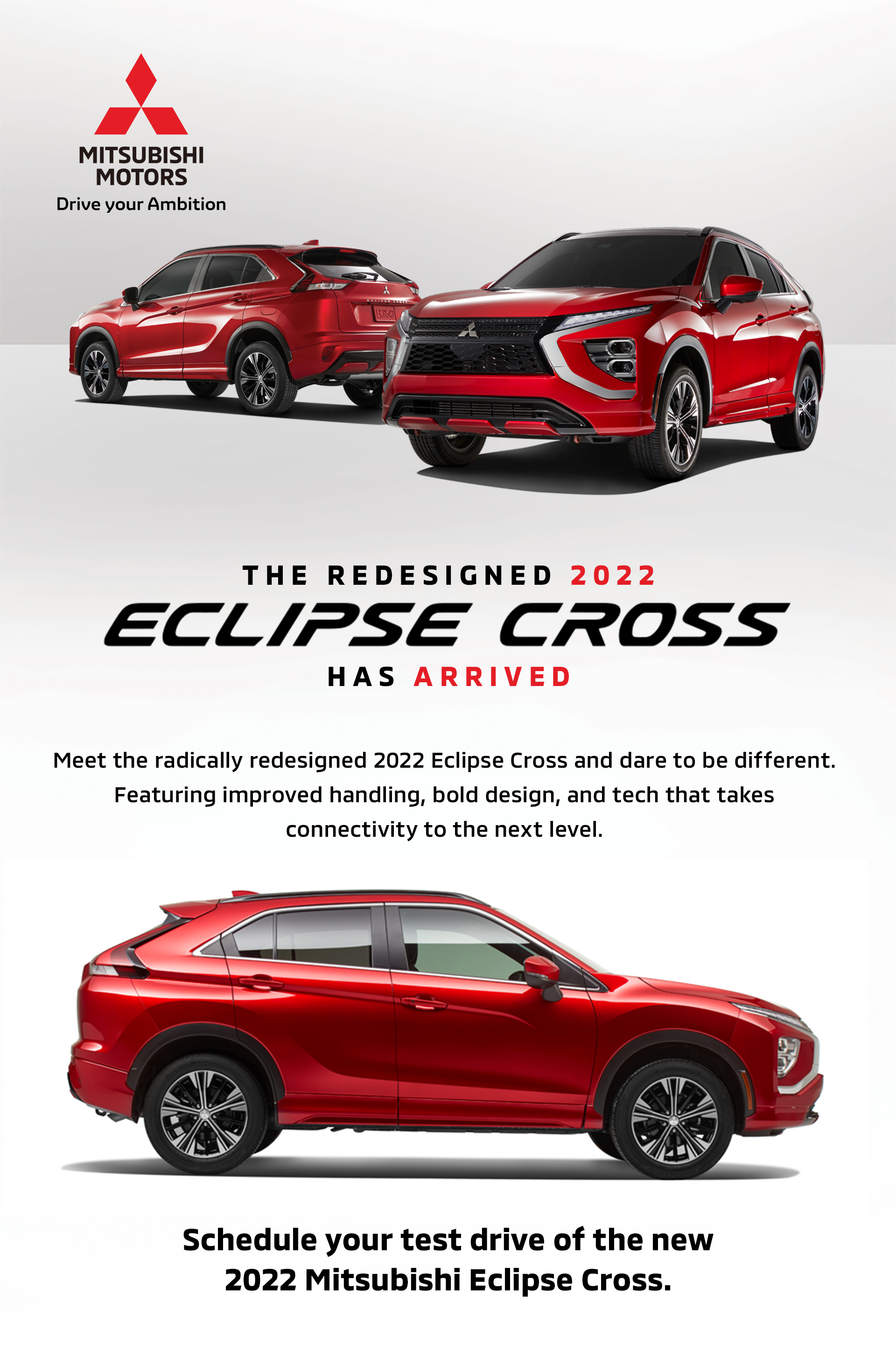 The Redesigned 2022 Mitsubishi Eclipse Cross Has Arrived