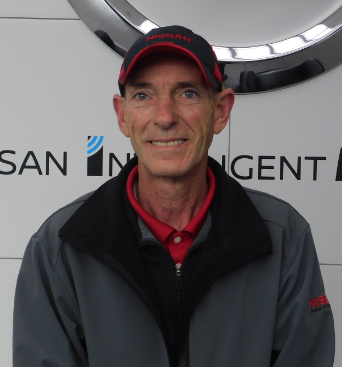 Nissan top service writer award for Jerry Dowell