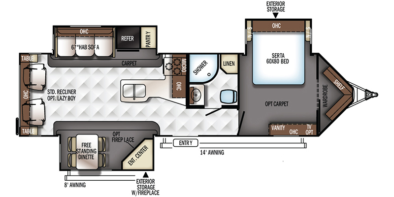 2017 Forest River Rockwood Windjammer 3029W - Donna, TX - P4049 for sale |  RV Station in Texas and Oklahoma | Wind Jammer Rv Wiring Diagram |  | RV Station