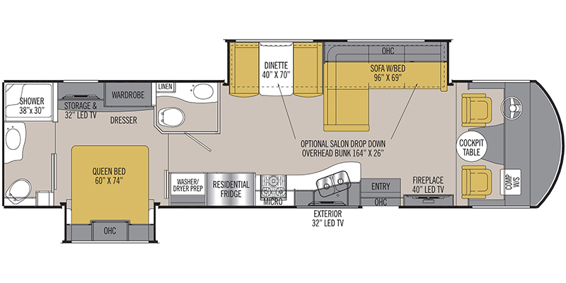 2018_coachmen_mirada_select floorplan