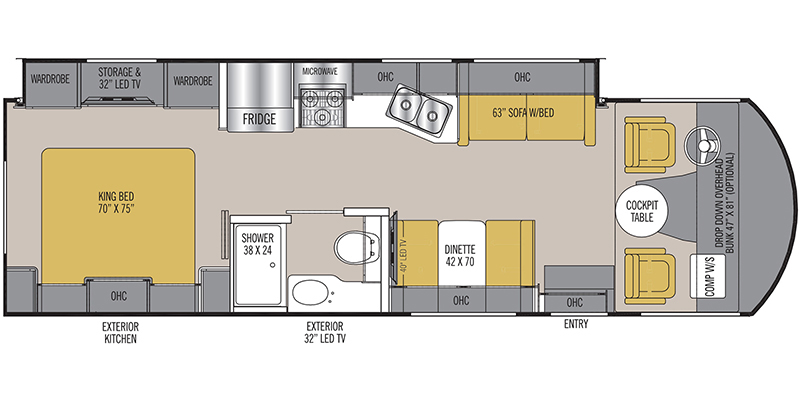 2019_coachmen_mirada floorplan