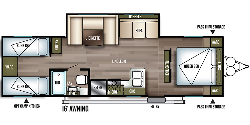 2018_forest_river_wildwood_x-lite floorplan
