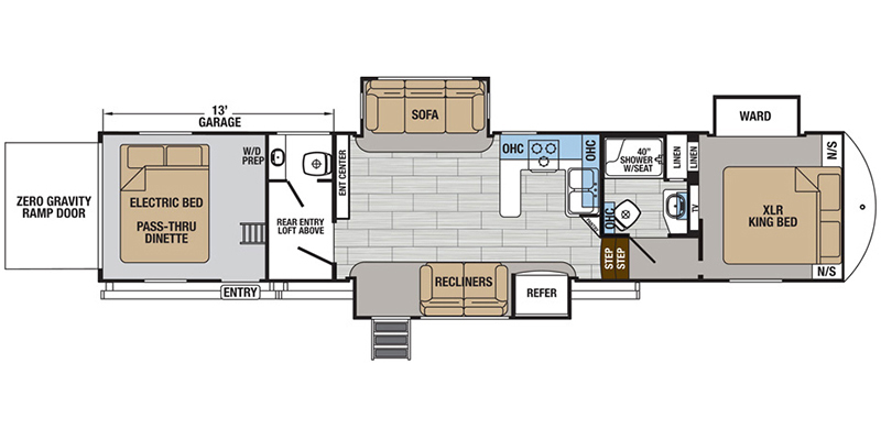 2019_forest_river_xlr_thunderbolt_floorplan