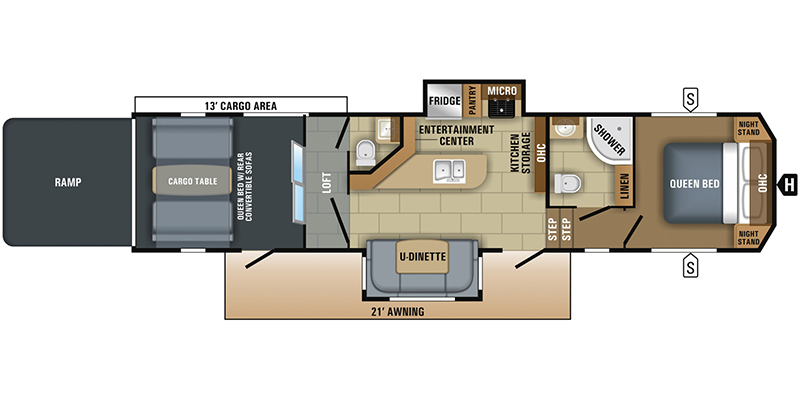 2018_jayco_talon floorplan