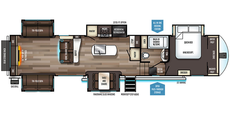 2019_forest_river_sabre_floorplan