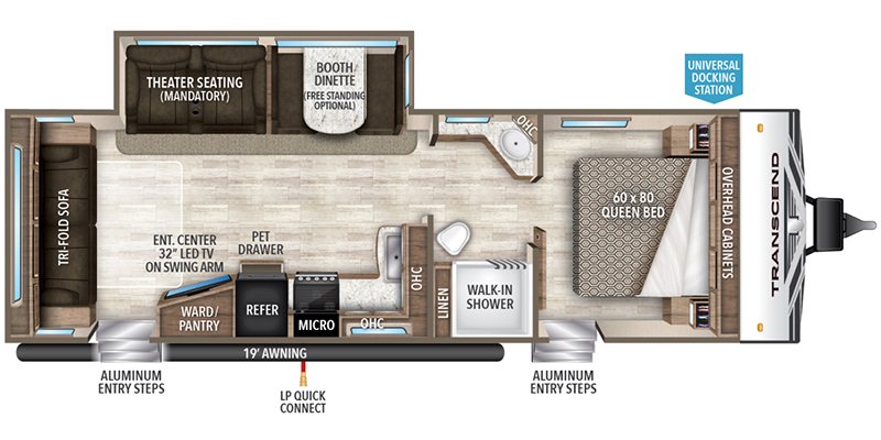 2019_grand_design_transcend floorplan