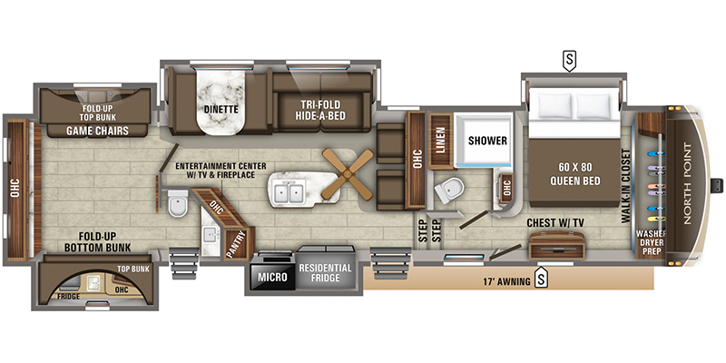 2019_jayco_north_point floorplan