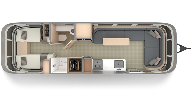 2022 Airstream Globetrotter 30RB Twin Thumbnail