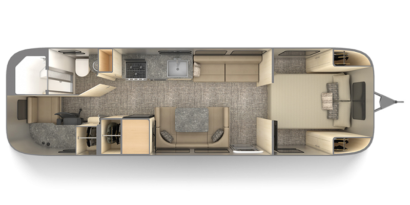 2022 Airstream Flying Cloud 30FB Office Thumbnail